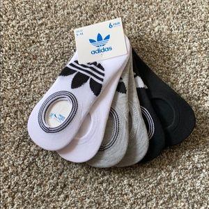 Women's Adidas Socks ( 6 pairs)